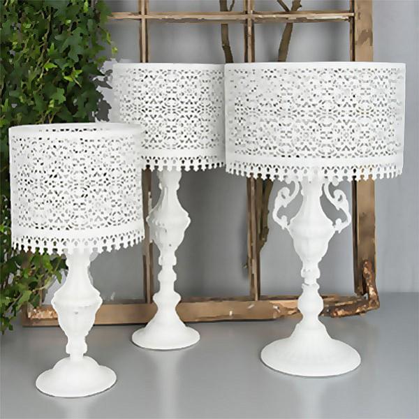 Lamplykta/Lykta Lampa för värmeljus - Stor