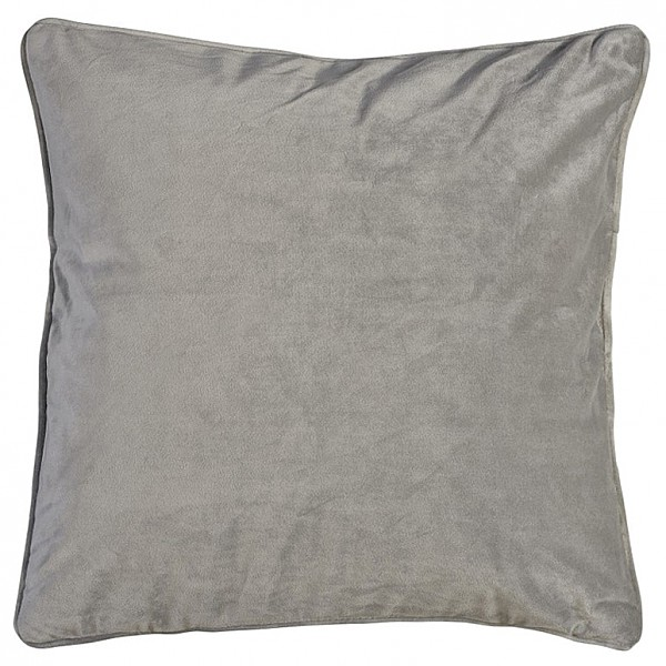 Cushion Cover Velvet - Light Grey
