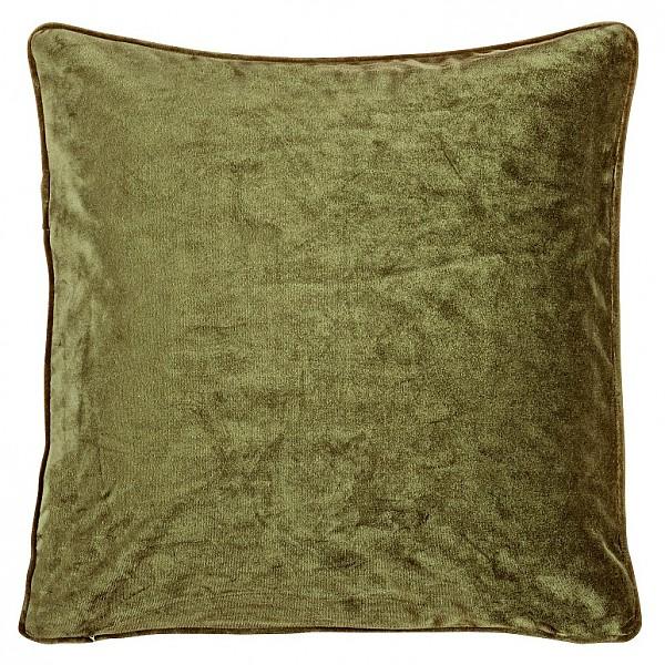 Kuddfodral Velvet - Olivgrön