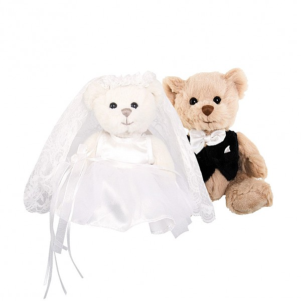 Wedding Pair Teddy Bears Kiara & Hugo
