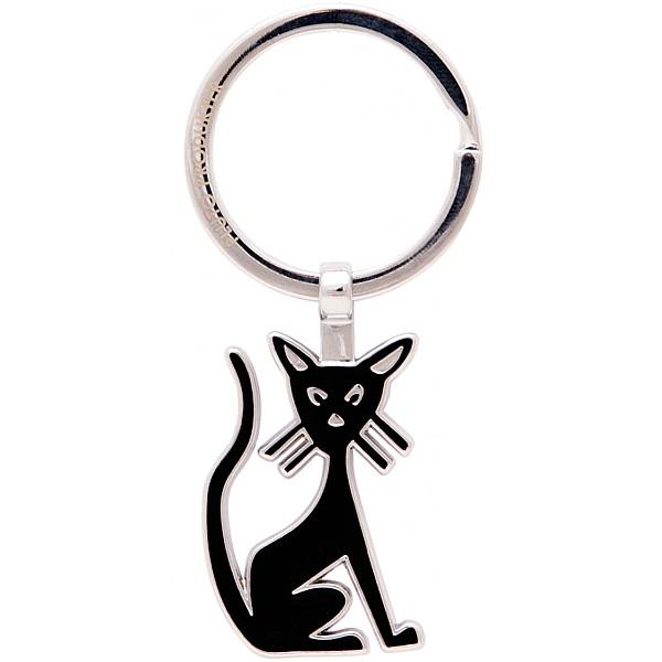 Nyckelring Katt - Svart