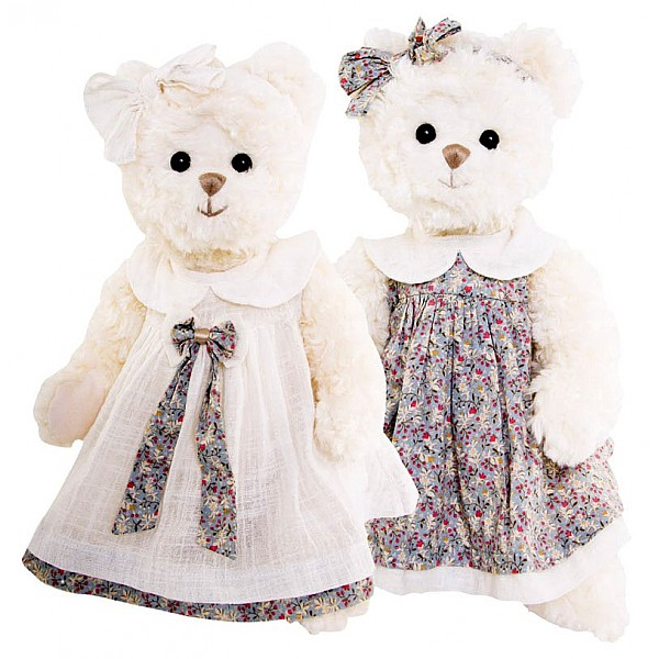 Teddy Bear Bella Sophie - Floral dress