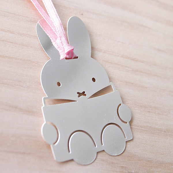 Bookmark Miffy - Silver