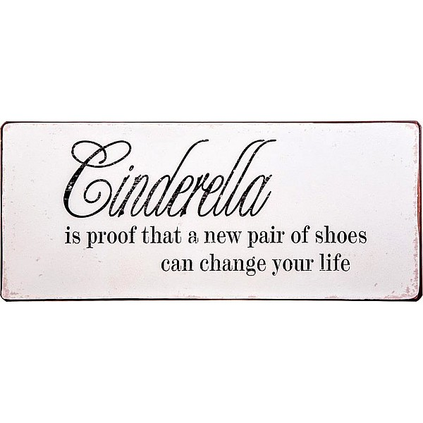 Tin Sign Cinderella