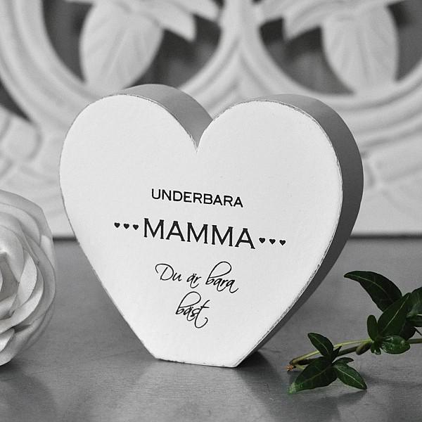 Hjärta Underbara Mamma du är bara bäst