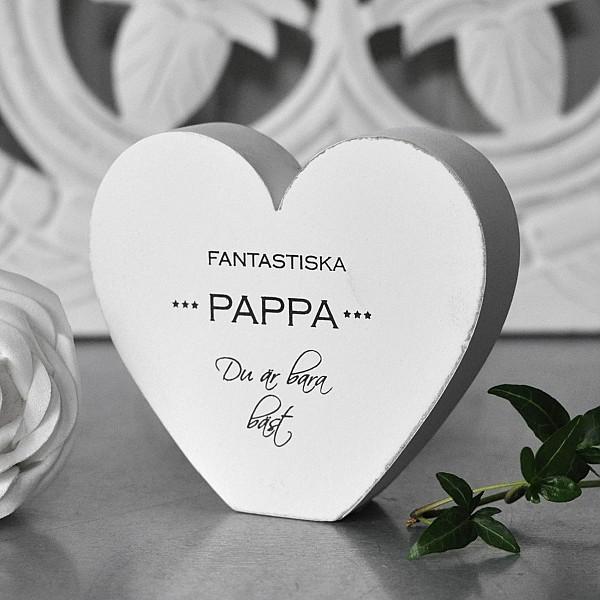 Hjärta Fantastiska Pappa du är bara bäst