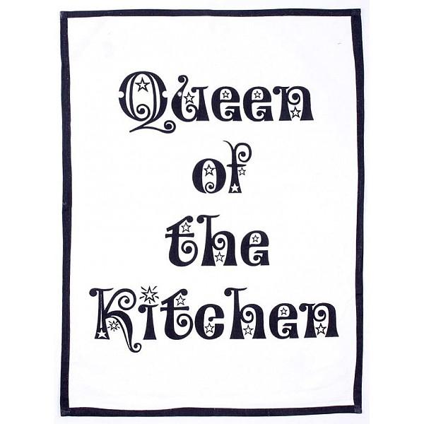 Tea Towel Queen of the kitchen