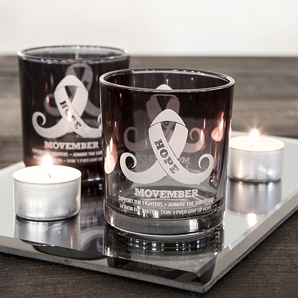 Majas Candle Holder Movember - Grey