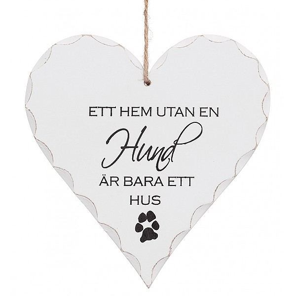 Hjärta Ett hem utan en hund