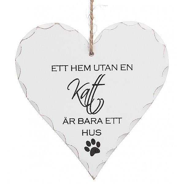 Hjärta Ett hem utan en katt
