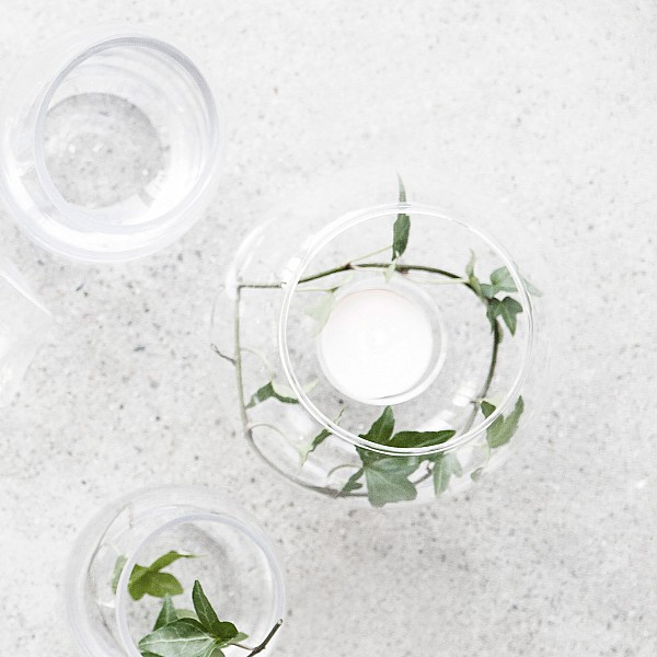 Glass ball Lindhov for table - Large