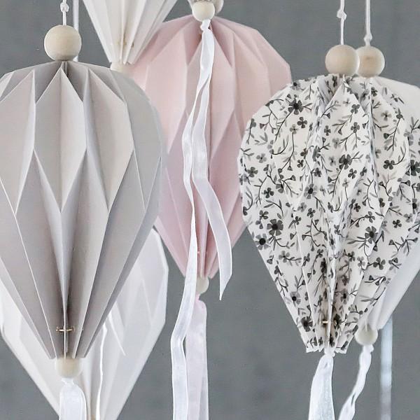 Paper Balloon Boviken Grey - Large