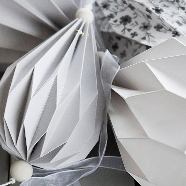 Paper Balloon Boviken Grey - Small