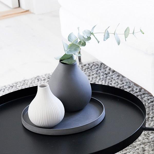 Keramikfat Grimshult - Svartgrå