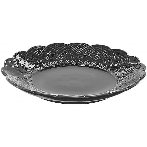 Side Plate Orient - Asphalt