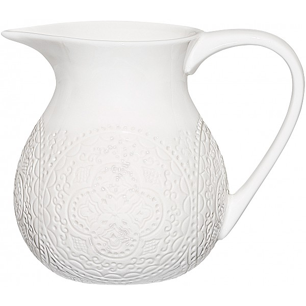 Small Jug Orient - White