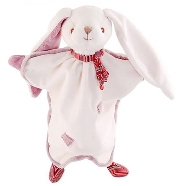 Snuttefilt Kanin Jakob - Lila