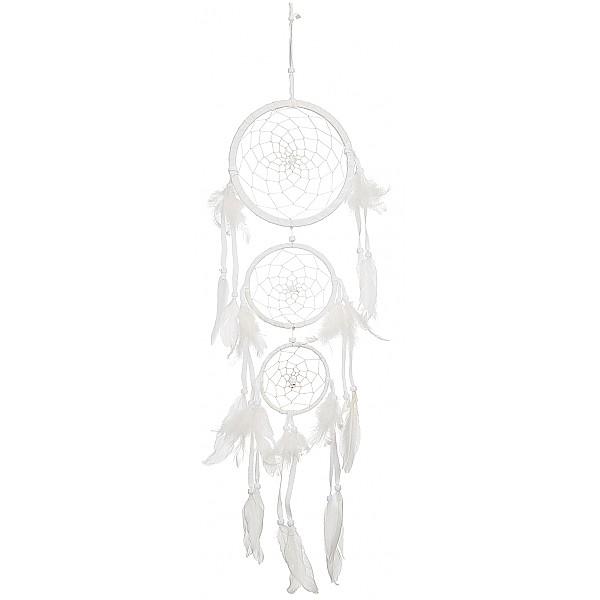 Dreamcatcher Triple - White