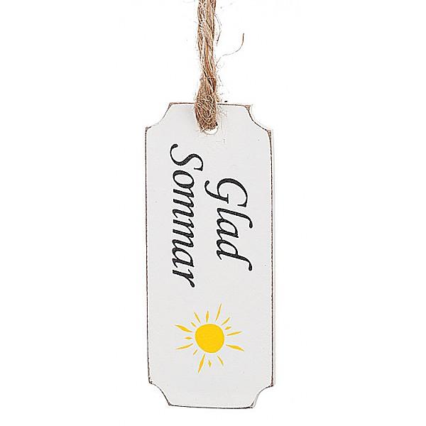 Presentlapp - Glad Sommar