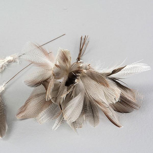 Easter Feathers Zig Zag - 12 pcs