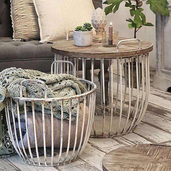 Soffbord med trälock - Stor