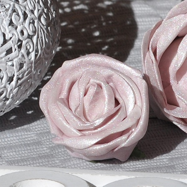 Decor Rose Ice Rose Light Pink - 5 cm