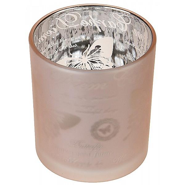 Candle Holder Carpe Diem Pink - Small