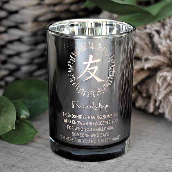 Majas Lykta Symbols Friendship - Silver