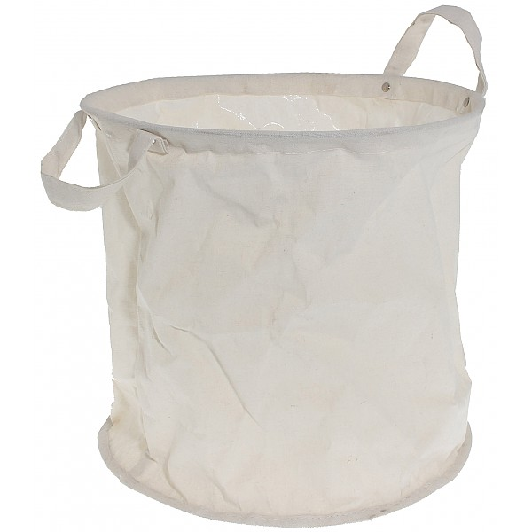 Fabric Basket Hagen White - Large