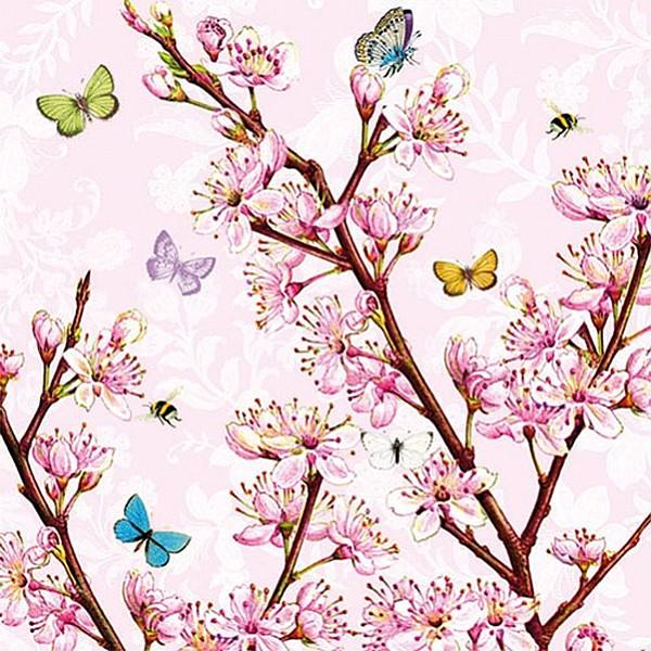 Servetter Blossom Rose