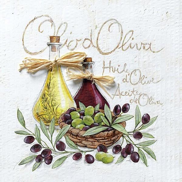 Napkins Olio D'Oliva