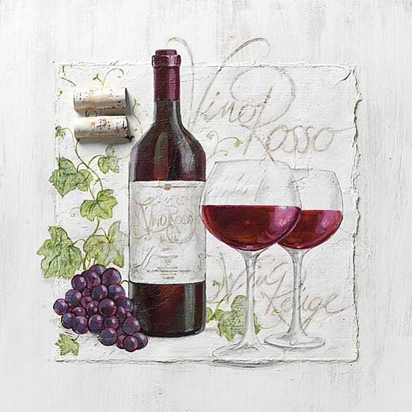 Servetter Vino Rosso