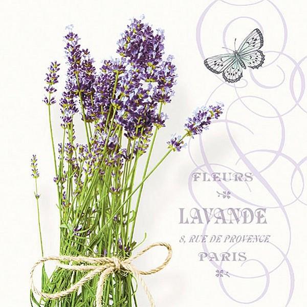 Servetter Bunch of Lavender
