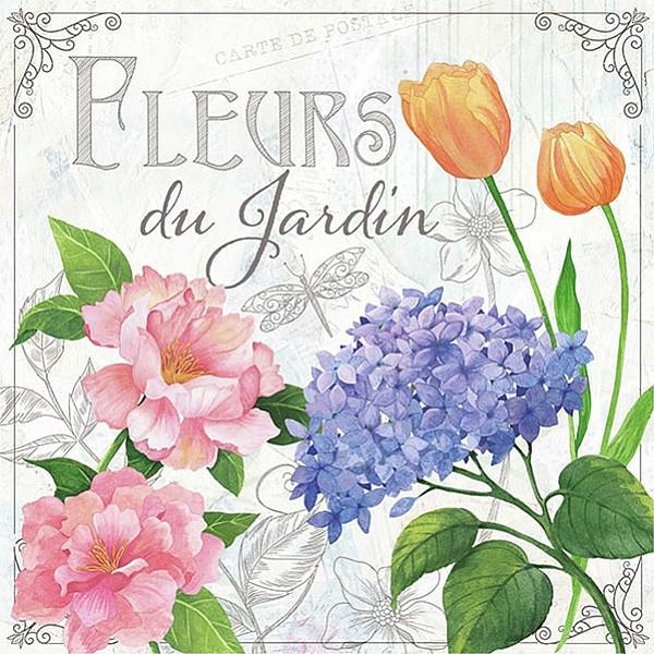Napkins Fleurs De Jardin