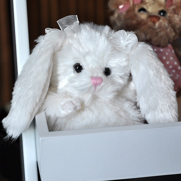 Rabbit Beauty - White Rosettes
