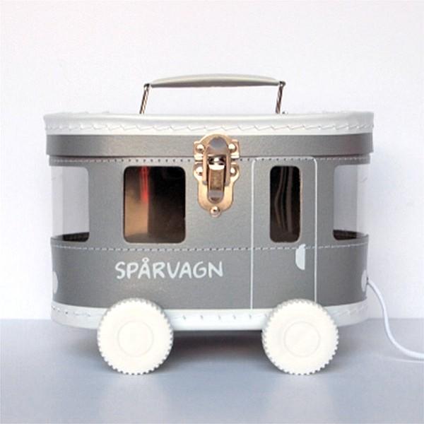 Spårvagnsväska - Silver