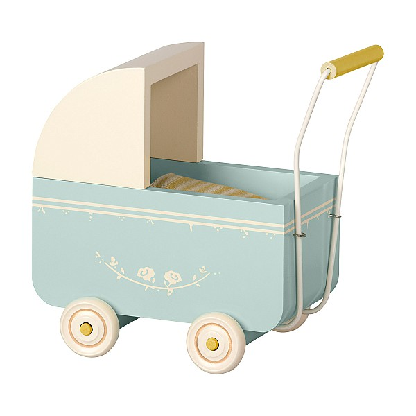 Maileg Vagn Micro - Blå