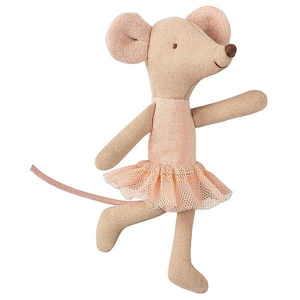 Maileg Mus Lillasyster Ballerina
