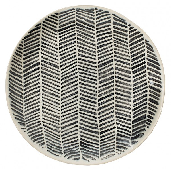 Side Plate / Small Plate Astrid Striped