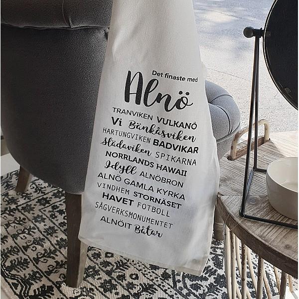 Majas Kökshandduk Det finaste med Alnö - Vit