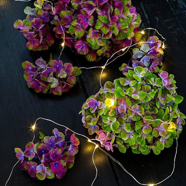 Majas Ljusslinga Micro LED - Klar