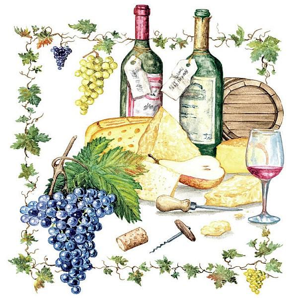 Servetter Wine and Cheese