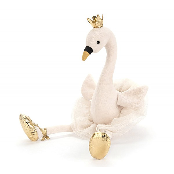 Jellycat Fancy Swan - Medium