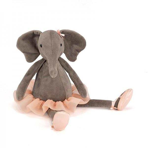 Jellycat Dancing Darcey Elephant - Medium