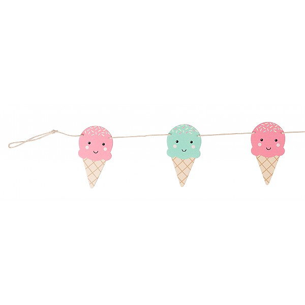 Girlang Glassar Happy Ice Cream