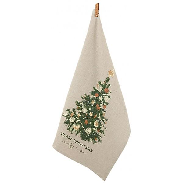 Kökshandduk Christmastree