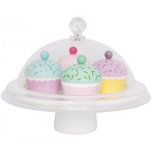 JaBaDaBaDo Kakfat med kupa och cupcakes