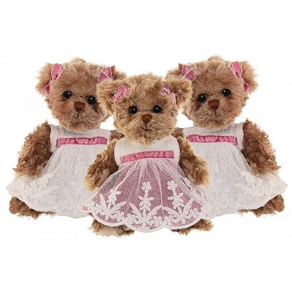 Nalle Little Amelia - Rosa klänning