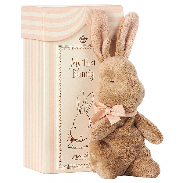 Maileg Kanin My First Bunny in Box - Rosa