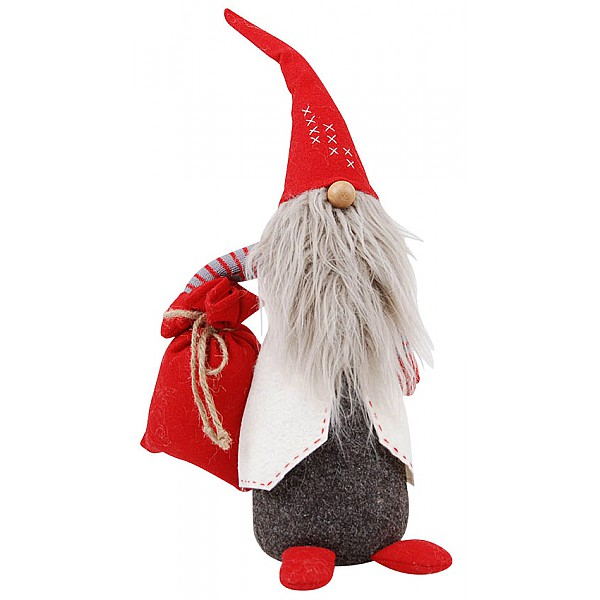 Tomte Father Christmas - Röd